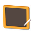isolated of black board vector image