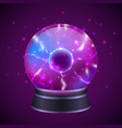 Magic Sphere vector image