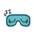 sleep related icon image vector image
