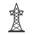 transmission tower icon image vector image vector image