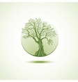 Tree logo template Growing business concept vector image