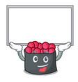 up board ikura character cartoon style vector image vector image