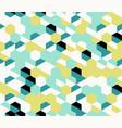 colorful irregular abstract geometric vector image vector image