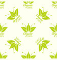 seamless pattern for eco products paper vector image