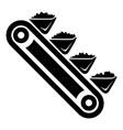 mine equipment icon simple style vector image