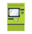 ATM cash dispenser vector image