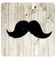 Moustache symbol vector image