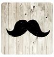 moustache symbol vector image vector image