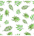 floral paradise hand drawn tropic seamless pattern vector image vector image