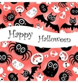 funny halloween background Monsters vector image vector image