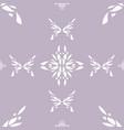 indian ornament beeatle detail buterflies vector image vector image