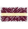 Latvian grunge flag vector image vector image