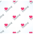 love reading seamless pattern with heart vector image vector image