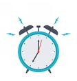 Retro alarm clock vector image vector image