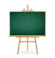 school chalkboard isolated on white vector image vector image