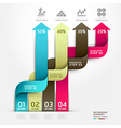 Abstract arrow business infographics