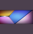 background with colored elements vector image vector image