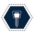 Car key symbol