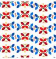 floral geometric minimal nordic scandinavian vector image vector image