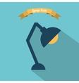 lamp design vector image vector image