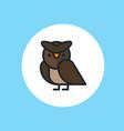 owl icon sign symbol vector image vector image