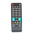 remote control for television isolated icon vector image