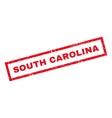 South Carolina Rubber Stamp vector image