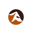 spartan warrior logo design template vector image vector image
