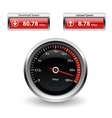Speed Internet Test Icons vector image