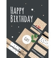 A bright for birthday vector image vector image