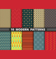 abstract modern stylish design pattern vector image vector image