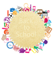 back to school on paper seamless children