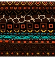Background with ethnic ornament vector image vector image