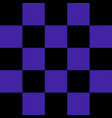 black and purple checkered background vector image