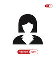 Business woman icon avatar symbol female sign