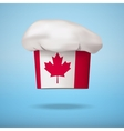 Canadian national cuisine vector image vector image