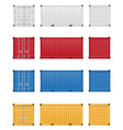 cargo container 03 vector image vector image