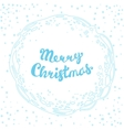 Christmas Doodle Card For Print And Web vector image vector image