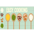 Easy Cooking vector image