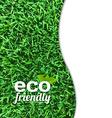 Eco Friendly Card vector image vector image