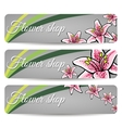 FloralBanners vector image