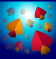 makar sankranti kite festival in india in sky vector image