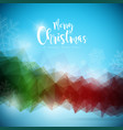 merry christmas and happy new year on vector image vector image