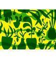 plants - abstract graphic background vector image vector image