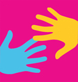 Pop art logo vector image vector image