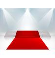 velvet Staircase3 vector image