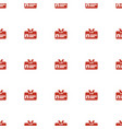 badge icon pattern seamless white background vector image vector image