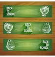 banners set Hand drawn vector image