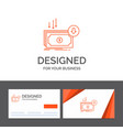 business logo template for business cost cut vector image vector image