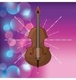 Cello icon Music and Sound design graphic vector image vector image